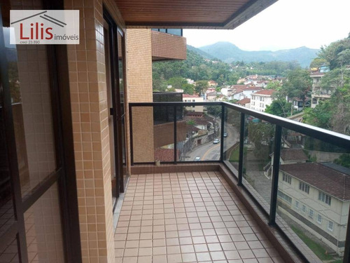Imagem 1 de 7 de Aptº. 78m²., C Suíte, 5 Min. Centro Petrópolis - Ap0444