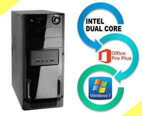 Cpu Intel Dual Core, 1.5gb Ddr2, Hd 160gb Office Win7, Wi-fi