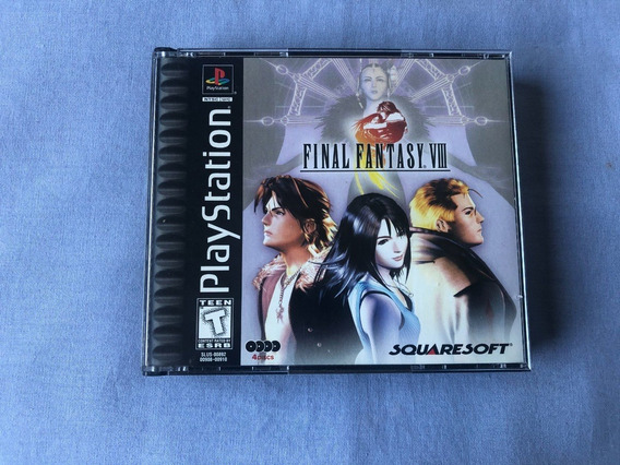 Final Fantasy 8 Original Completo Americano Playstation 1