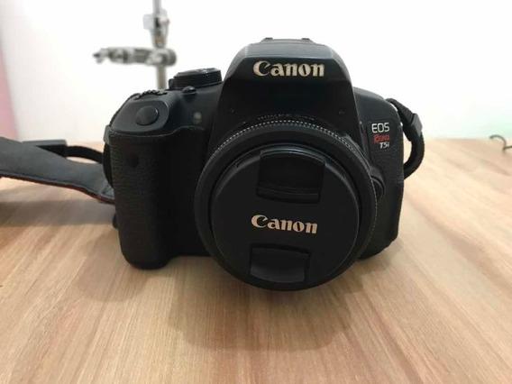 Canon T5i + Lente 24mm E 18-54mm