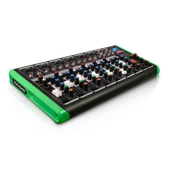 Mesa De Som Pro Bass Profissional Pm-1624 Bt Bluetooth