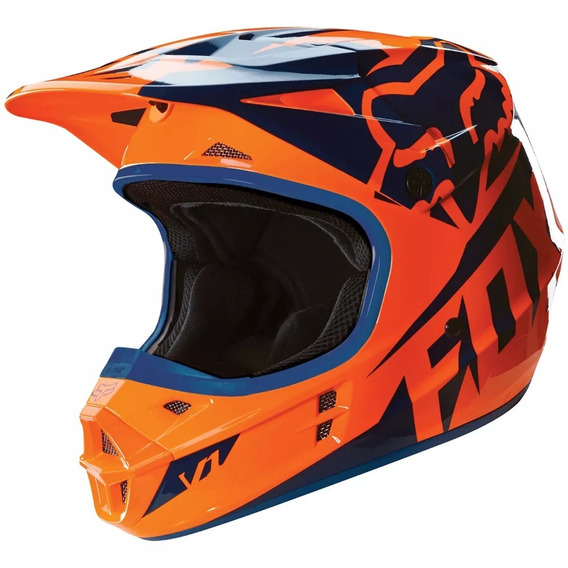 Capacete Fox V1 Orange