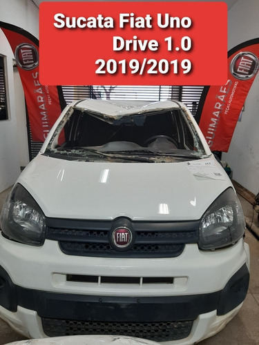 Imagem 1 de 9 de Sucata Fiat Uno Drive 1.0 2019/2019