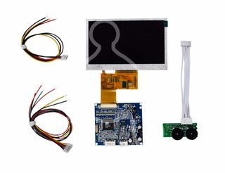 Monitor Lcd Color 4.3 Digital 12vcd Video Compuesto 1vpp. U