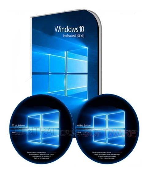 Cd Formatação Windows 10 Pro 32/64 + Office