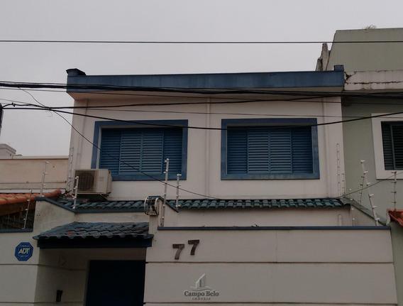 Casa Com 5 Salas No Campo Belo - Cc084-2