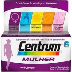 Centrum Mulher 30 Comprimidos Polivitaminico