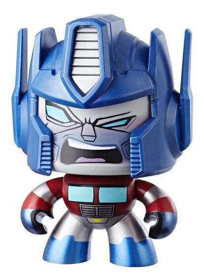Boneco De Ação - Mighty Muggs - 15 Cm - Transformers - Optim