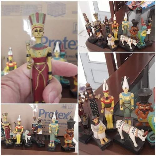 Imagem 1 de 5 de Vendo Coleção De 52 Deuses Do Egito