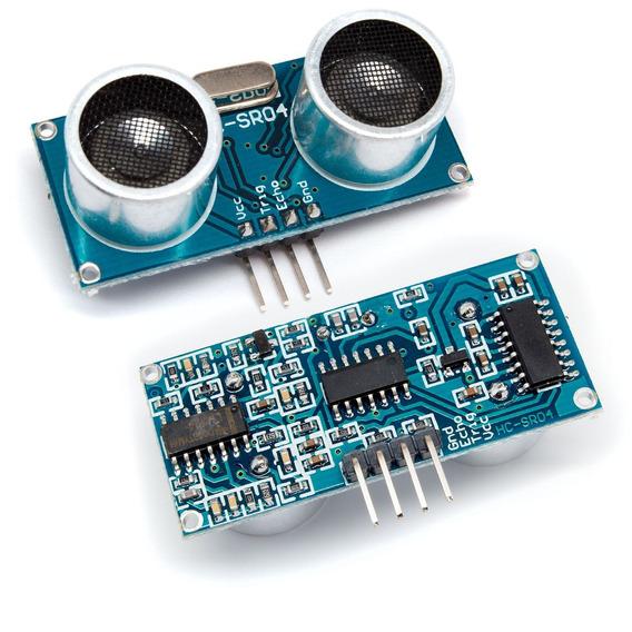 2x Módulo Sensor Ultra Sônico Distância Hc-sr04 Para Arduino