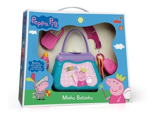 Imagem 1 de 3 de Minha Bolsinha Peppa Pig Elka - 937