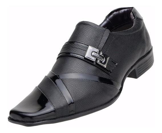 Sapato Social Masculino Calçado De Homem Moderno Estilo Italiano Couro Legítimo Solado De Borracha Confortável - 8126 A