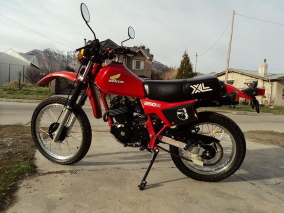 Honda Xl250r Año 1982