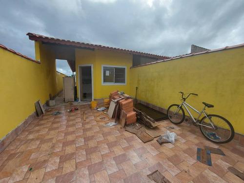 5246 - Casa Nova 2 Dormitorios  Piscina  Vera Cruz Mongaguá
