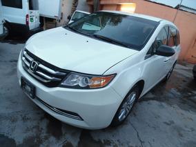 Honda Odyssey 3.5 Lx Mt 2014 Blanca