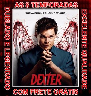 Serie Dexter (1ª Até 8ª Temporada) Completa Com Frete Grátis