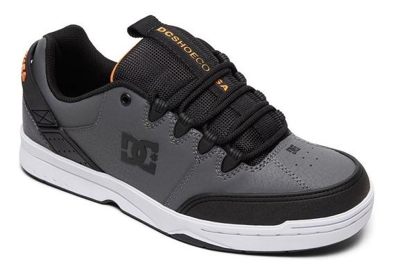 Zapatillas Dc Shoes Syntax Grises - Envíos Sin Cargo