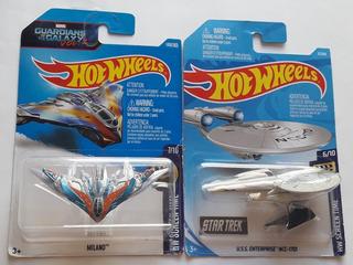 Hot Wheels Lote Milano Star Trek Nave Espacial Tipo Diorama