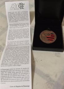 Medalha 120 Anos Do Clube De Regatas Do Flamengo - Bronze