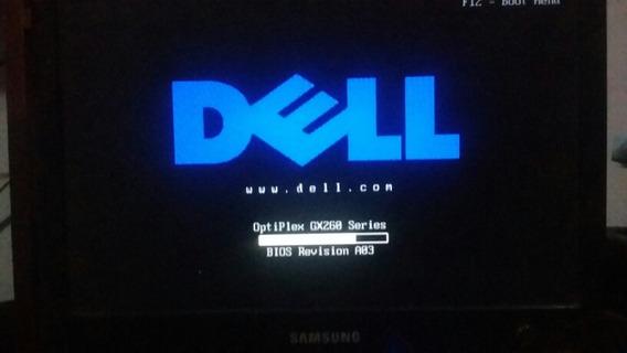 Placa Mãe Dell 1.8ghz Com 512 Gb Memória Pentium4 C\garantia