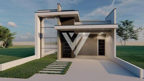 Casa Com 3 Dormitórios À Venda, Condomínio Reserva Ipanema - Sorocaba/sp - Ca1823