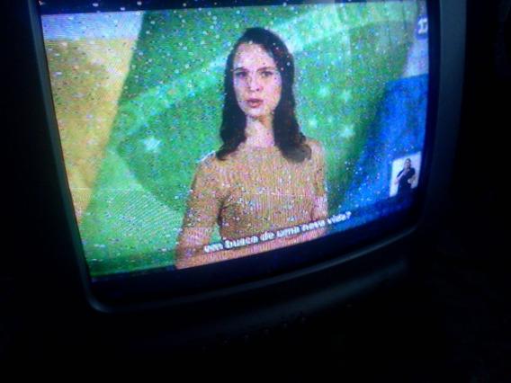 Tv Cce Tubo 14 Poelgada Audio E Video-leia O Anuncio
