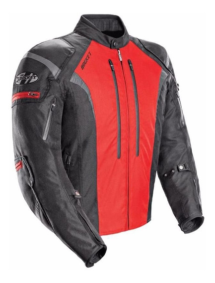 Campera Moto Joe Rocket Atomic 5.0 Rojo Protecciones - Um