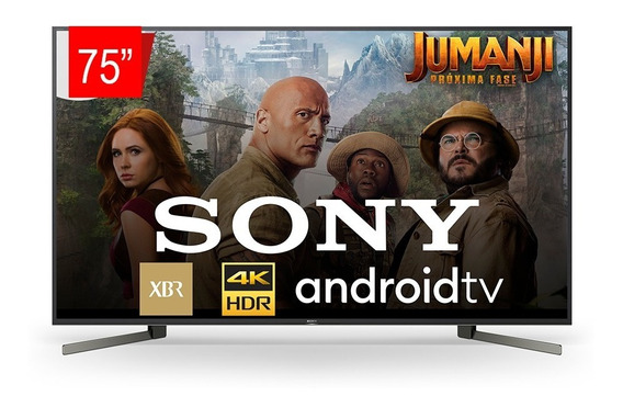 Smart Tv Sony - 75 Led 4k Uhd Hdr - Androidtv Xbr 75x955g