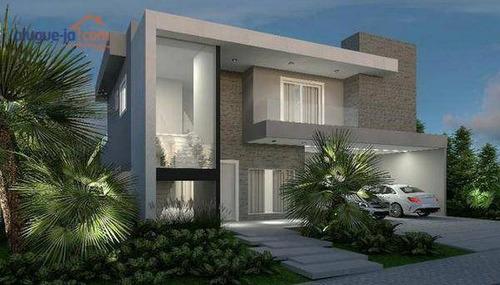 Imagem 1 de 8 de Casa Alto Padrão Com 4 Dormitórios À Venda, 320 M² Por R$ 1.280.000 - Urbanova - São José Dos Campos/sp - Ca2023