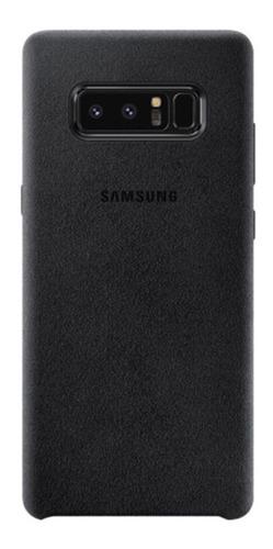 Imagem 1 de 4 de Capa Original Samsung Galaxy Note 8  Alcantara Cover Preta