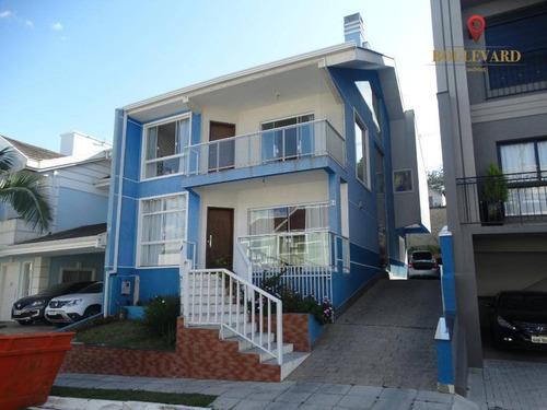 Imagem 1 de 27 de Casa No Residencial Bella Vista, Com 3 Dormitórios À Venda, 253 M² Por R$ 810.000 - Santa Cândida - Curitiba/pr - Ca0212