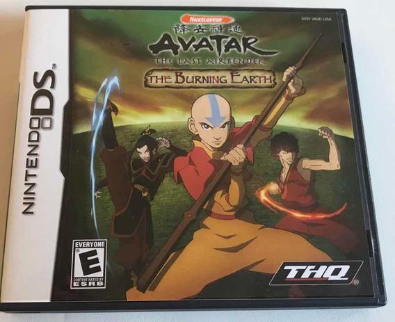 Avatar The Burning Earth Nintendo Ds