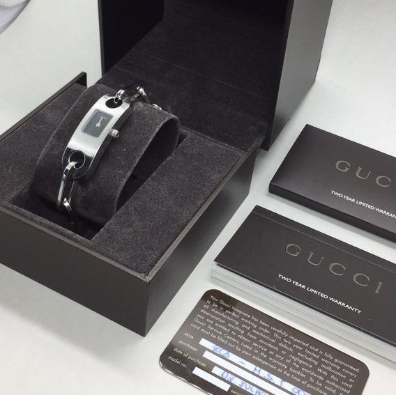 Relógio De Pulso Gucci, Na Caixa E Com Certificado