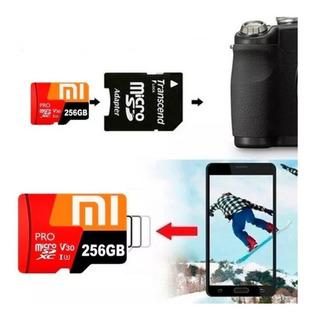 Kit Com 2 Cartões De Memória 256gb Xiaomi Original + Brinde