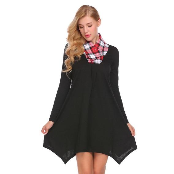 4a0694d79a6b Vestido De Mezclilla Corte Holgado - Ropa, Bolsas y Calzado en ...