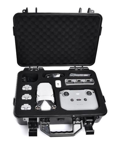 Imagen 1 de 8 de Maleta Para Drone Dji Mavic Mini 2 Resistente Al Agua