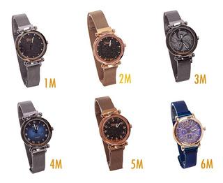 Reloj Iman Metalico Surtidos X 3 Unidadades Perfucasa