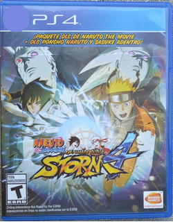 Naruto Ultimate Ninja Storm 4 Ps4 Infinity Games