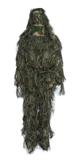 Camouflage Traje Ghost Ghillie Suit Sniper Gotcha Caceria 3d