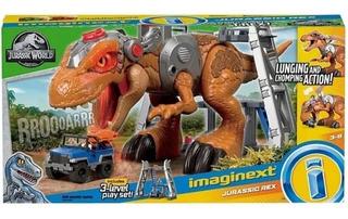 Imaginext Gran T-rex Jurassic World Fisherprice Coleccionabl