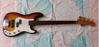 Fender Precision Bass 1978 Customizado Bajo Fretless