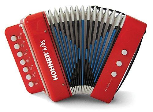Hohner Kids Uc102r Efecto De Acordeon De Juguete Musical