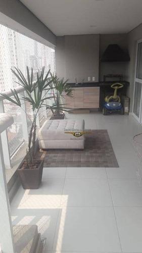 Imagem 1 de 30 de Apartamento Com 3 Dormitórios À Venda, 127 M² Por R$ 1.360.000,00 - Tatuapé - São Paulo/sp - Ap2901