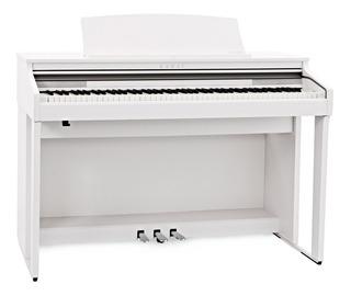 Piano Electrico 88 Notas Mueble Blanco Kawai Ca48 W + Banco