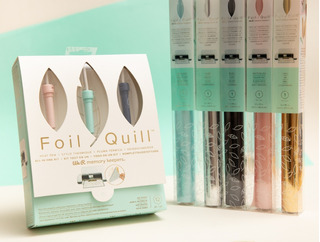 Foil Quill X3 We R Memory Keepers + 5 Rollos Foil Wrmk