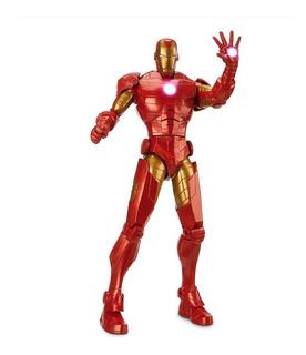Iron Man Disney Store Avengers Marvel 34 Cm Luces 15 Frases