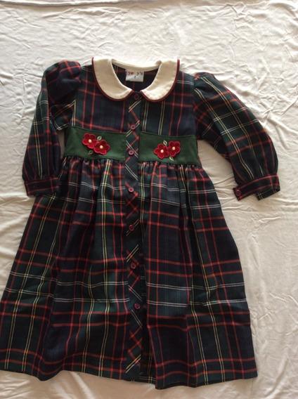 Vestido Nena De Invierno