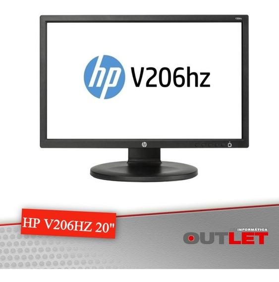 Monitor Hp V206hz Led 20 Wide Digital 1600x900
