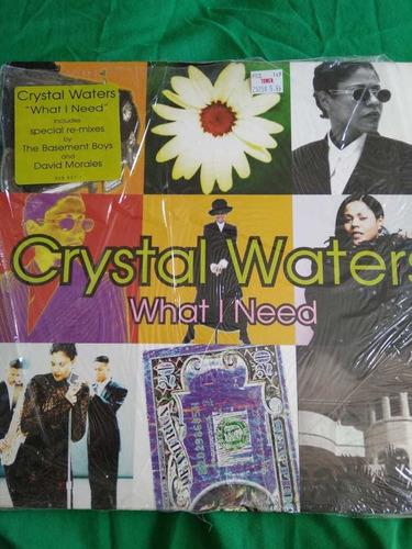 Imagen 1 de 6 de Crystal Waters - What I Need Special Mix En Vinil