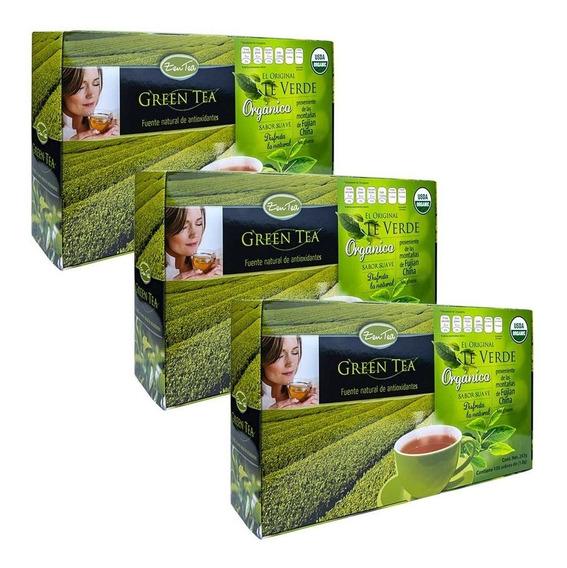 Té Verde Zen Tea Orgánico 405 Sobres Promoción 3x2